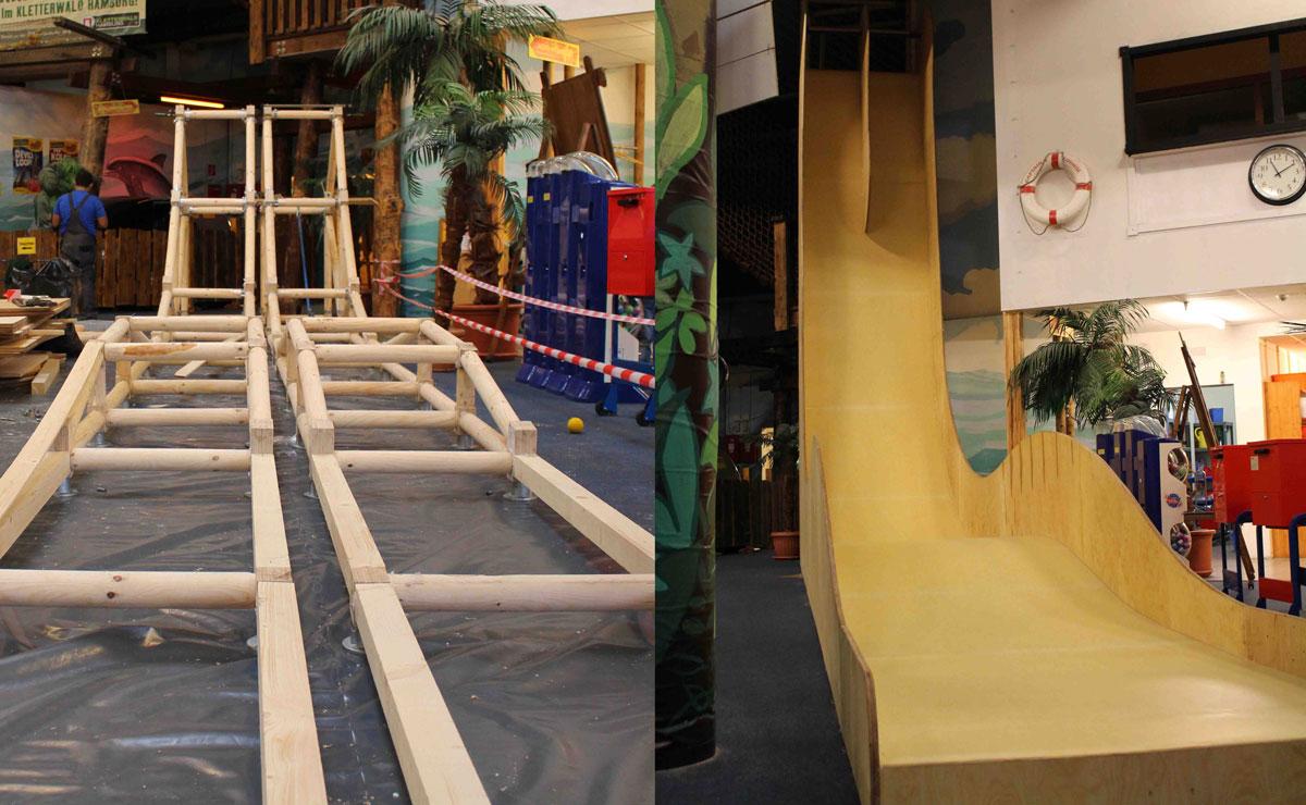 Klettergerüst Innen : Bambutec international gmbh bambuuplay